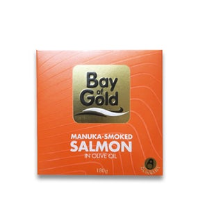 Bay of Gold Manuka-Smoked Salmon in Olive Oil