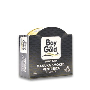 Bay of Gold Manuka-Smoked Tuna Ventresca in Olive Oil