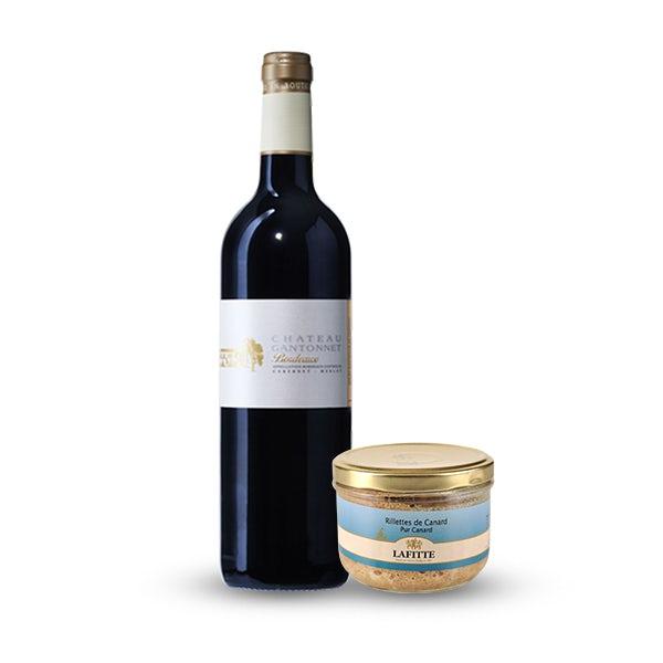 Picture 1 - Lafitte Pure Duck Rillettes and Château Gantonnet Bordeaux Rouge