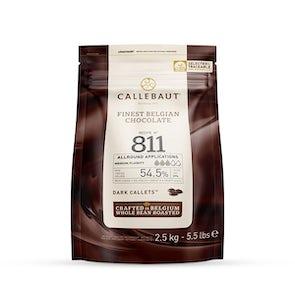 Callebaut No. 811 Callets Dark Couverture Chocolate