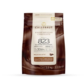 Callebaut No. 823 Callets Couverture Milk Chocolate