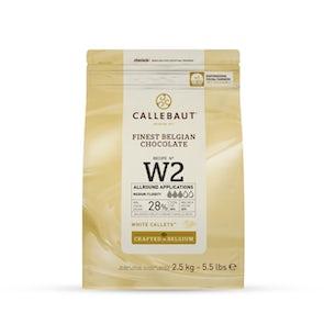 Callebaut No. W2 Callets White Chocolate