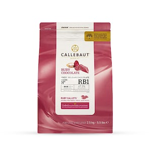 Callebaut RBI Couverture Ruby Milk Chocolate