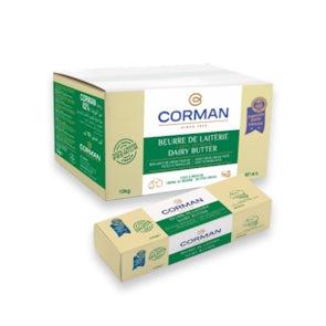 Corman Unsalted Butter 82% Fat Block