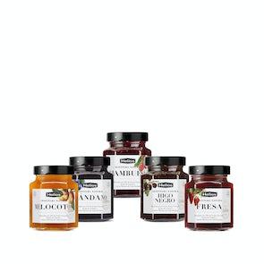 Extra Natural Helios Jams in Hexagonal Jars 330g