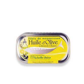 La Belle - Iloise Mackerel Fillets With Olive Oil, Lemon And 5 Peppercorns