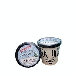Pinkie's Farm Full Cream Greek Yogurt