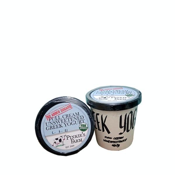 Picture 1 - Pinkie's Farm Full Cream Greek Yogurt