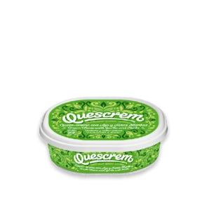 Quescrem Cream Cheese Garlic and Herbs Tub