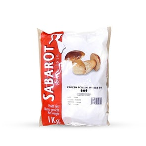 Sabarot Whole Porcini from France (Frozen)