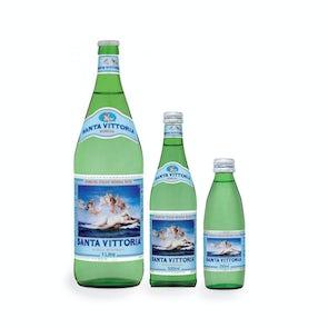 Santa Vittoria Sparkling Italian Water 24pc / 12 pc case
