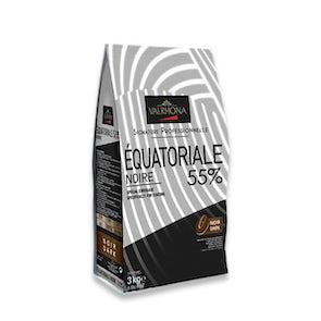 Valrhona Dark Equatoriale 55% Beans