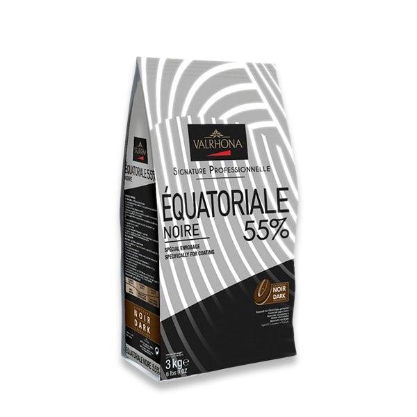 Picture 1 - Valrhona Dark Equatoriale 55% Beans