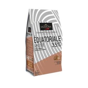 Valrhona Milk Equatoriale Lactee 35% Beans