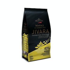 Valrhona Grand Cru Milk Jivara Lactee 40% Beans