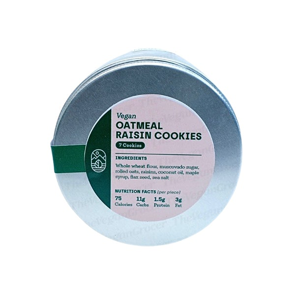 Picture 2 - Vegan Oatmeal Raisin Cookies by Earth Desserts