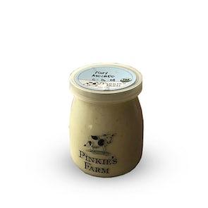 Pinkie's Farm Avocado Full Cream Unsweetened Yogurt
