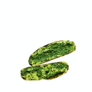 Naked Bakery Schiacciata with Garlic Parsley (The Hulk 80)