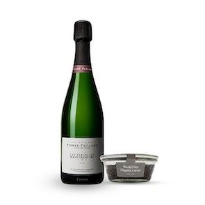 Riofrìo Organic Caviar and Champagne Pierre Paillard Les Parcelles