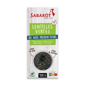 Sabarot Green Lentils