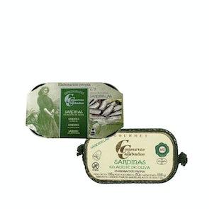 Conservas de Cambados Sardinillas (Baby Sardines) in Olive Oil